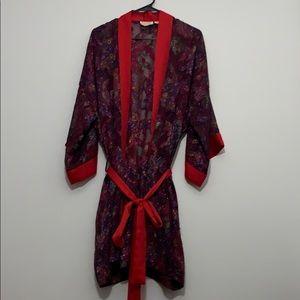 Victoria's Secret Vintage Kimono/ sheer Robe